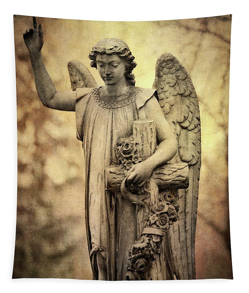 Heavenly Angel Tapestry featuring the photograph Heavenly Angel by Dale Kincaid