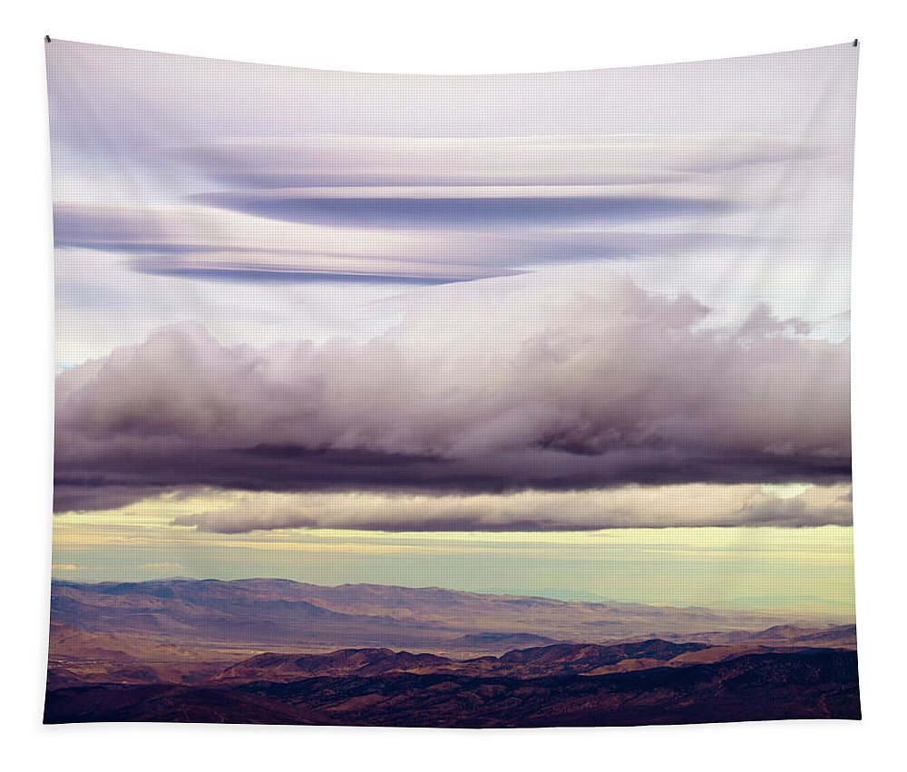 Lake Tahoe Tapestry featuring the photograph Heavenly Clouds by Christopher Johnson