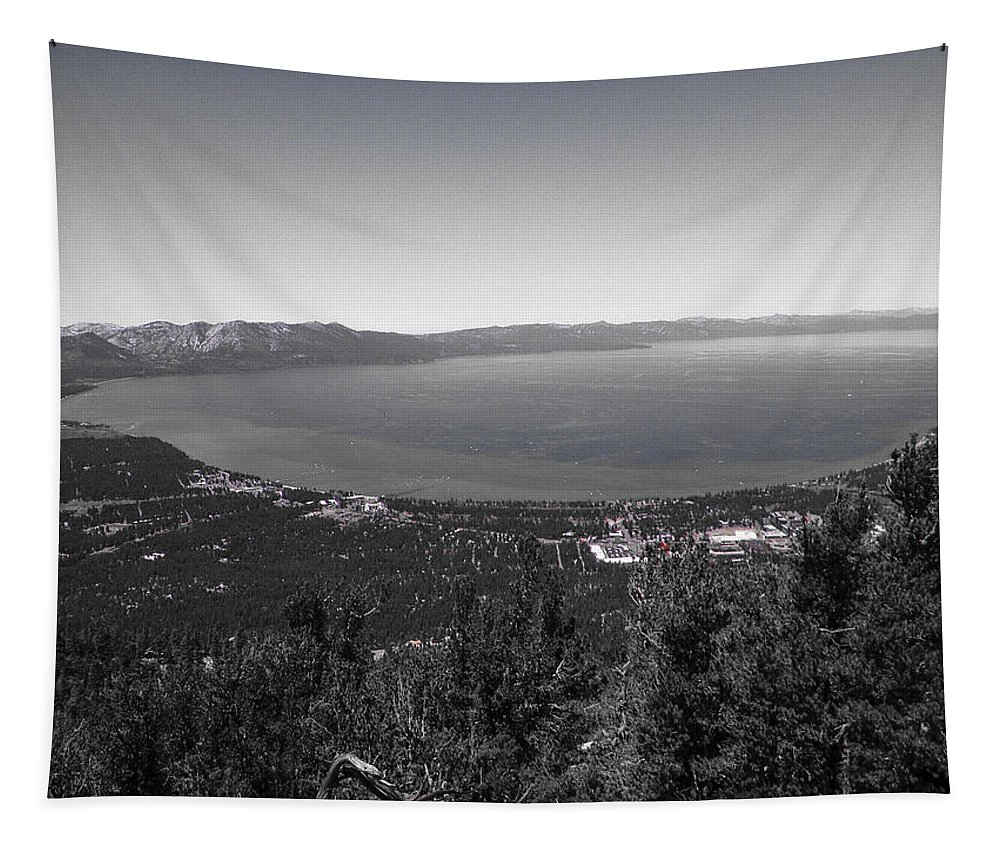 Lake Tahoe Tapestry featuring the photograph Heavenly View by Heather Joyce Morrill