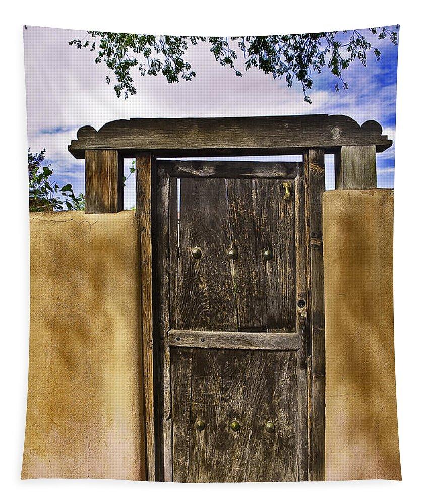 Door Tapestry featuring the photograph Heaven's Door by Madeline Ellis