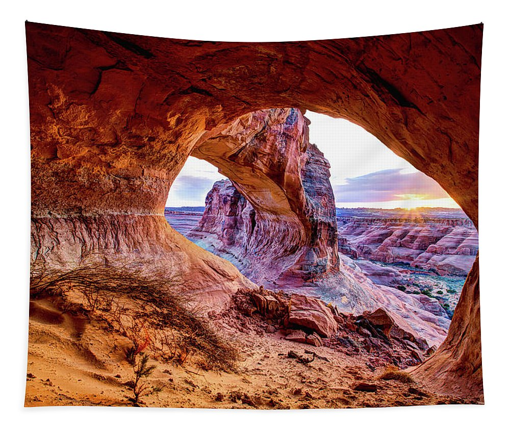 Hidden Tapestry featuring the photograph Hidden Alcove by Chad Dutson