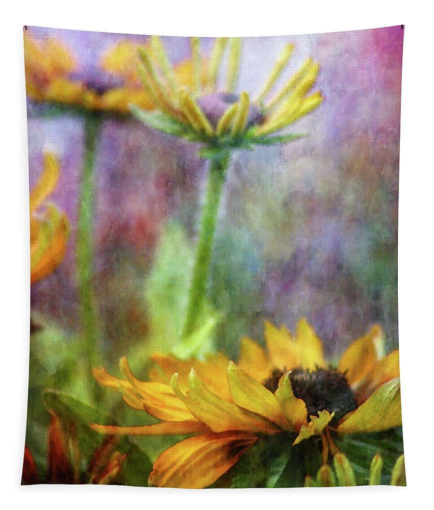 Impressionist Tapestry featuring the photograph Hidden Reality 2761 Idp_2 by Steven Ward