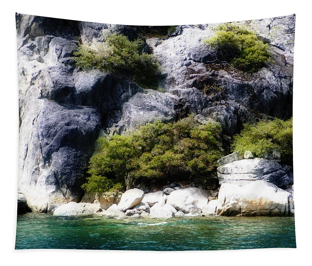 Lake Tahoe Tapestry featuring the photograph Hidden Spot by Heather Joyce Morrill