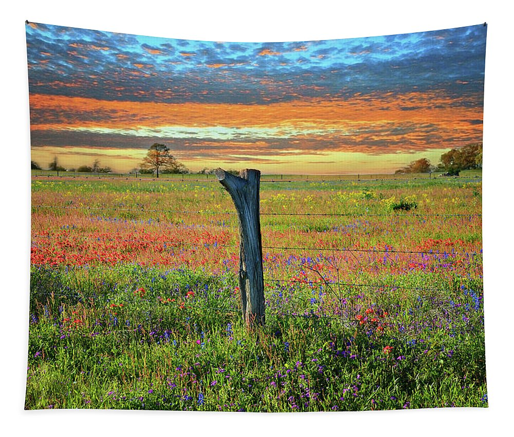 Heaven Tapestry featuring the photograph Hill Country Heaven by Lynn Bauer
