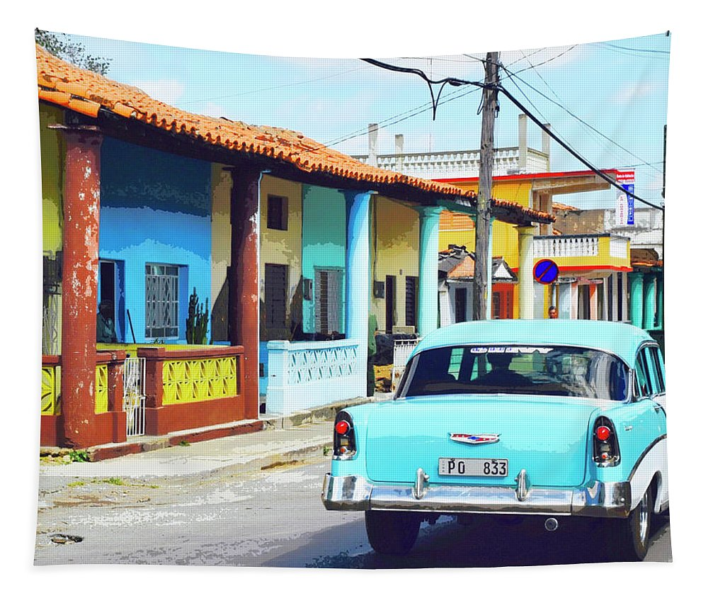 Cuba Tapestry featuring the photograph Homeboy by Dominic Piperata