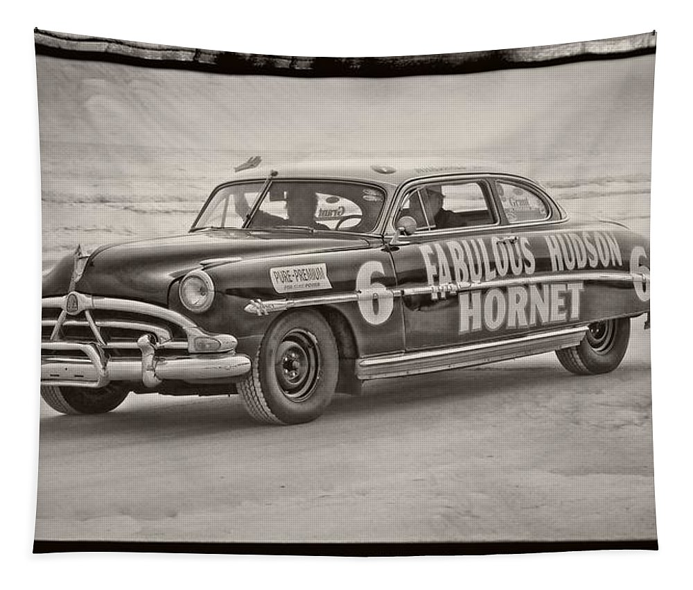 Alicegipsonphotographs Tapestry featuring the photograph Hornet On Daytona Beach by Alice Gipson