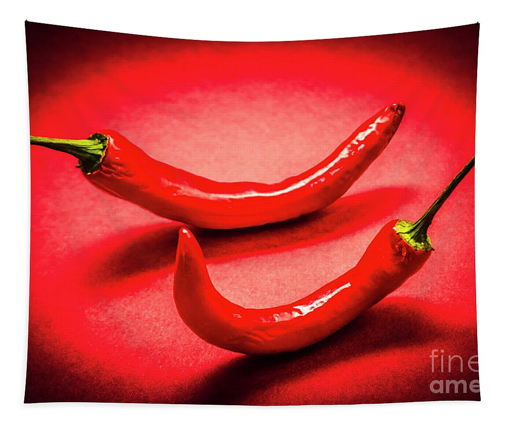 Hot Tapestry featuring the photograph Hot Chili Kitchen by Jorgo Photography - Wall Art Gallery