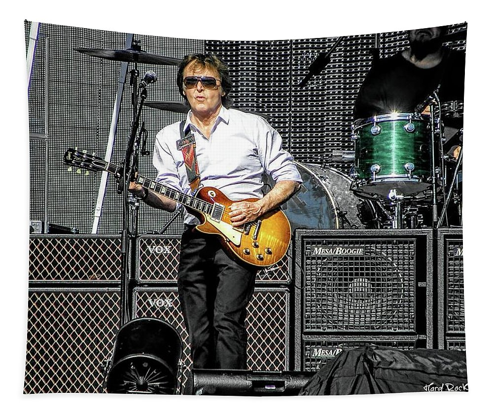 Paul Mccartney Tapestry featuring the photograph Hot Time In Miami by Keri Butcher