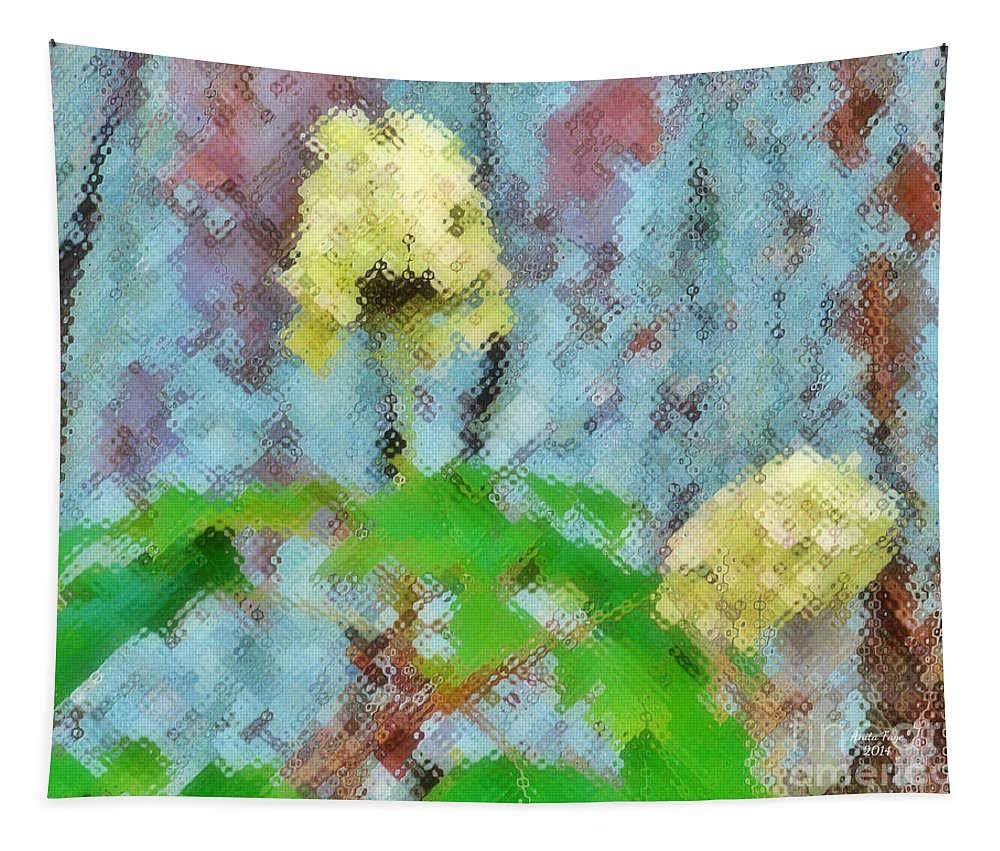 I Believe In Angels Tapestry featuring the photograph I Believe In Angels by Anita Faye