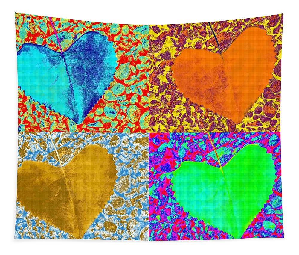 Nature Tapestry featuring the photograph In Love - For YOU by Juergen Weiss