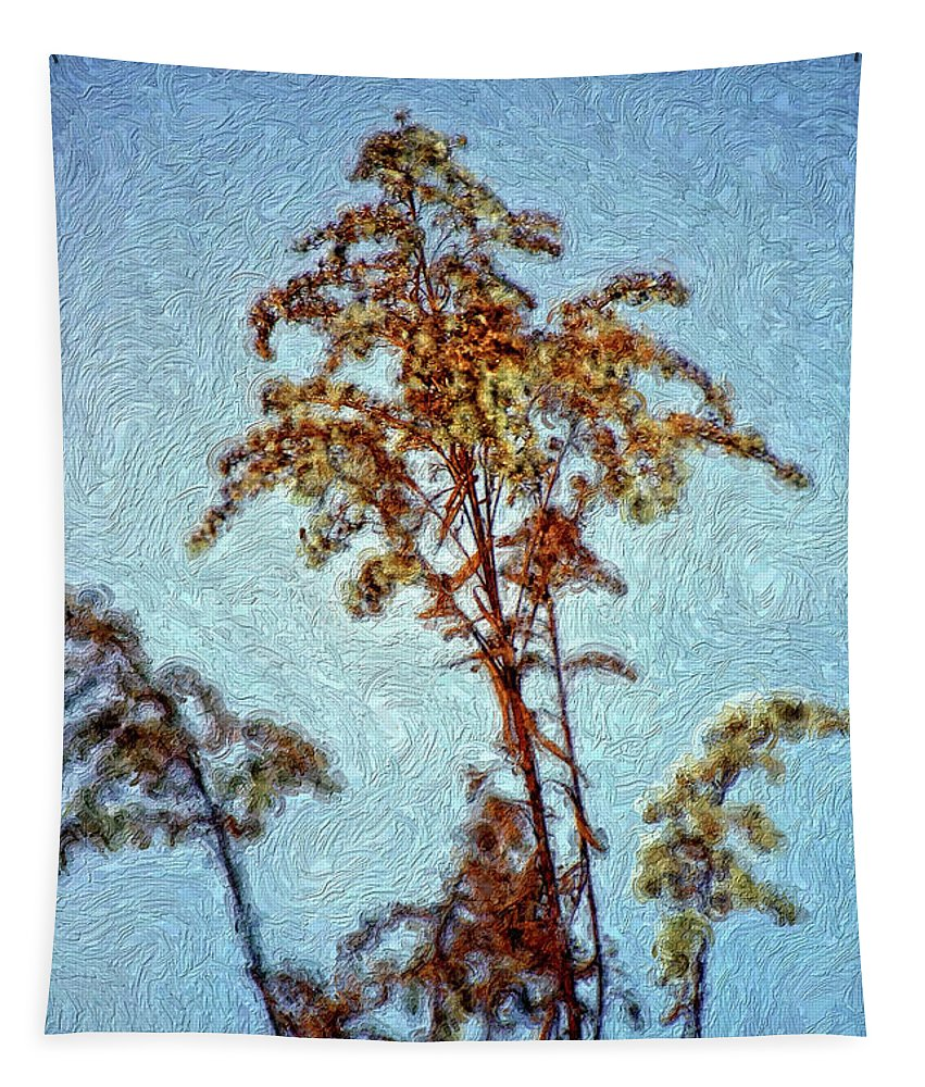 Weed Tapestry featuring the photograph In Praise Of Weeds II by Steve Harrington