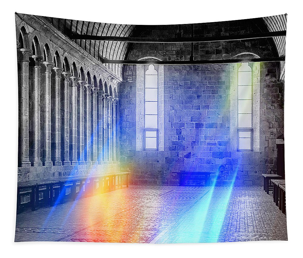 Hall Tapestry featuring the photograph In The Hall Of The Mountain King by Dominic Piperata