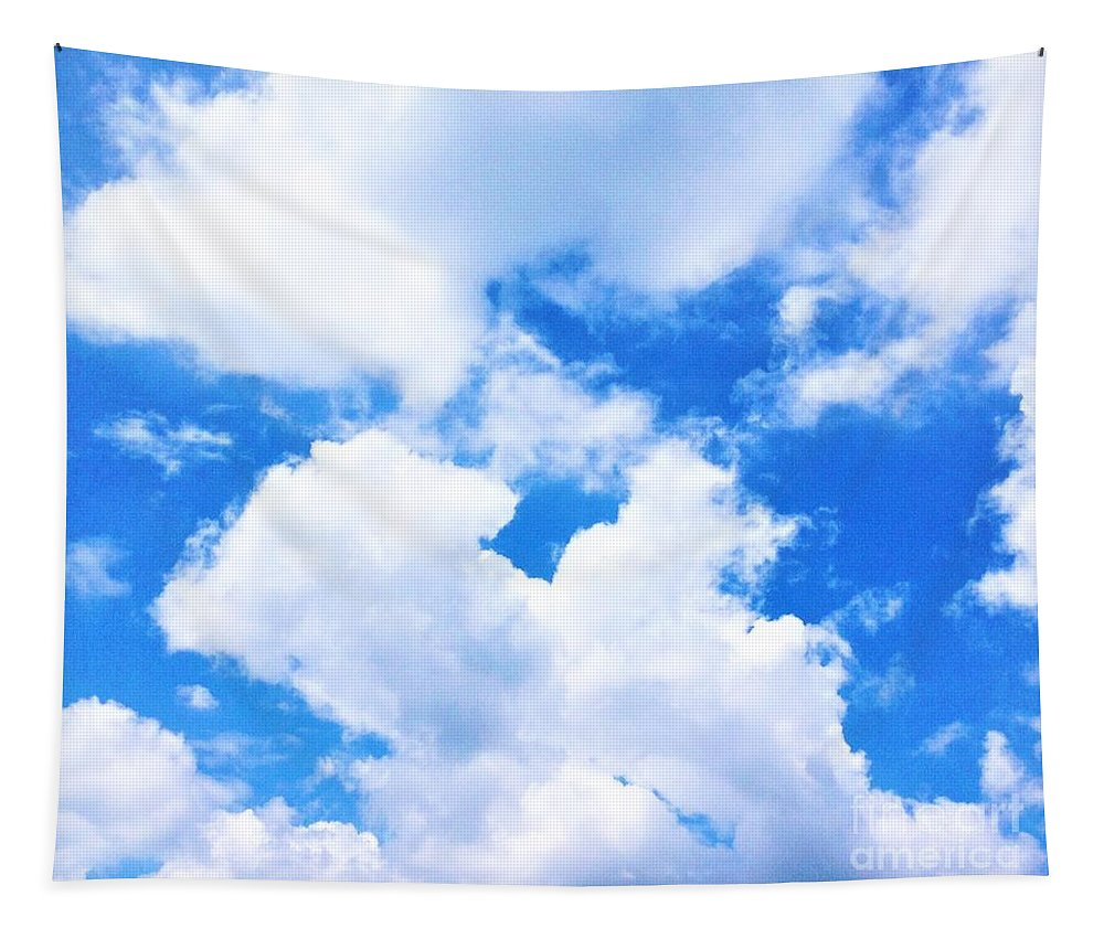Photography Tapestry featuring the photograph In The Heavens Above by Debra Lynch