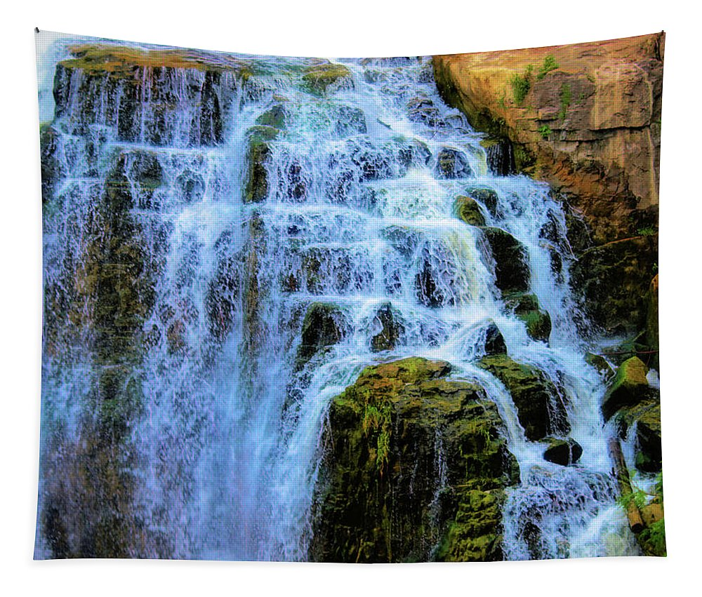 Owensound Tapestry featuring the photograph Inglis Falls by Barry King