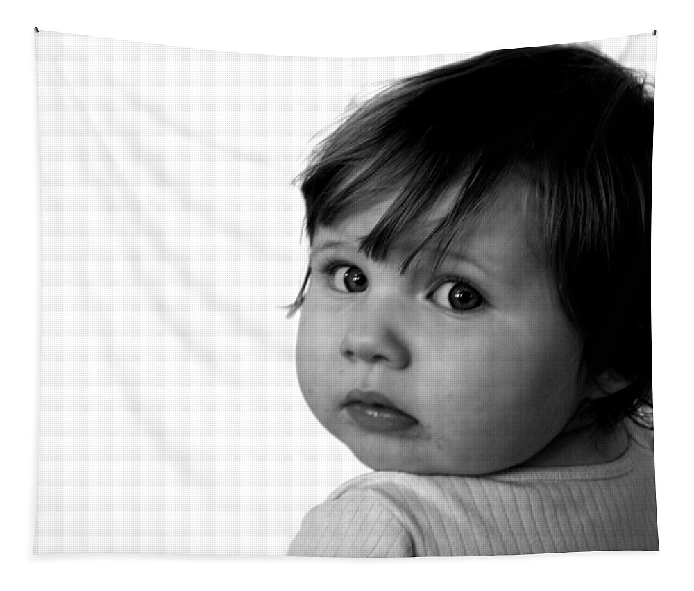 Child Tapestry featuring the photograph Innocence by Rick De Wolfe
