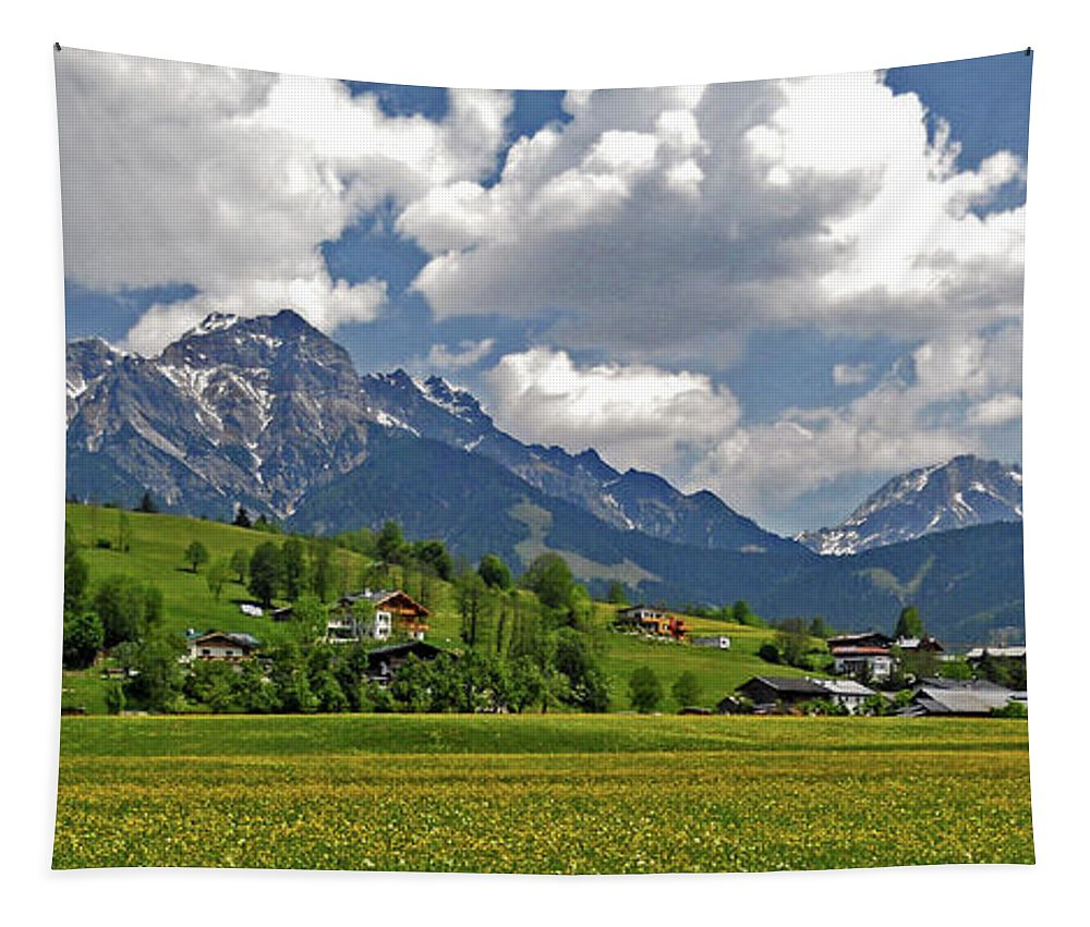 Europe Tapestry featuring the photograph Is There More To Life Than This ... by Juergen Weiss