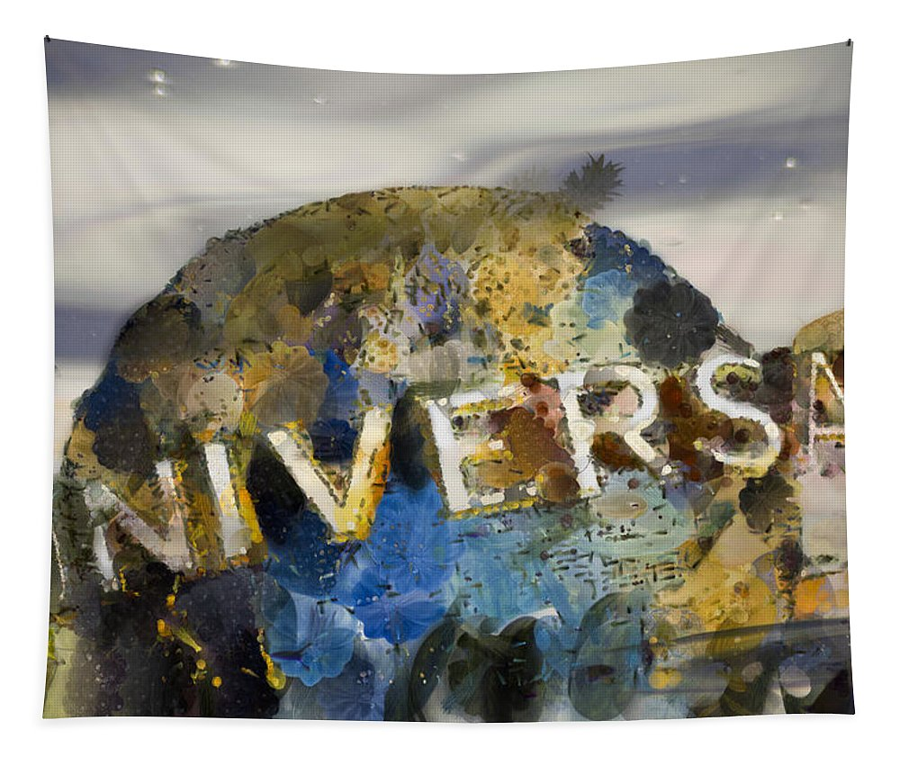 Universal Tapestry featuring the photograph It's A Universal Kind Of Day by Trish Tritz
