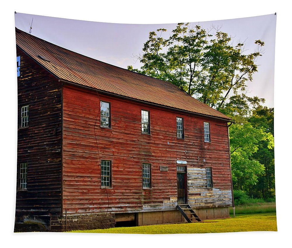 Jackson's Mill #3 Tapestry featuring the photograph Jackson's Mill #3 by Lisa Wooten