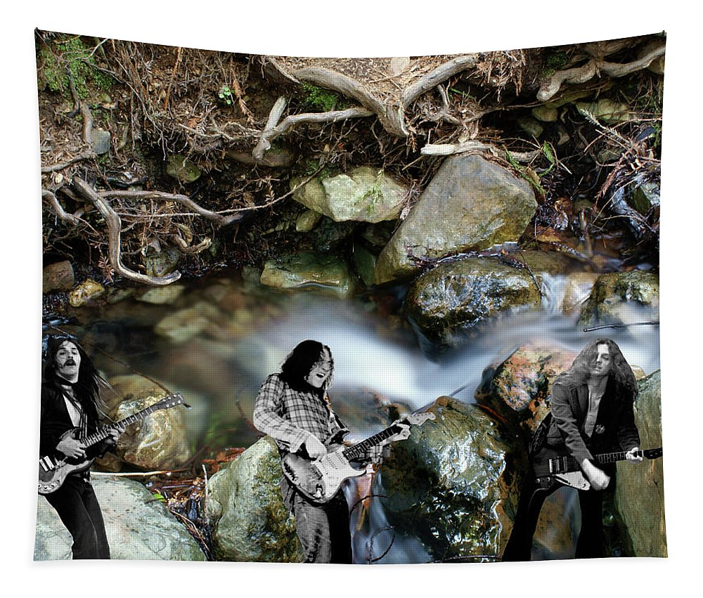 Rock And Roll Tapestry featuring the photograph Jam At The Creek 2018 #1 by Ben Upham
