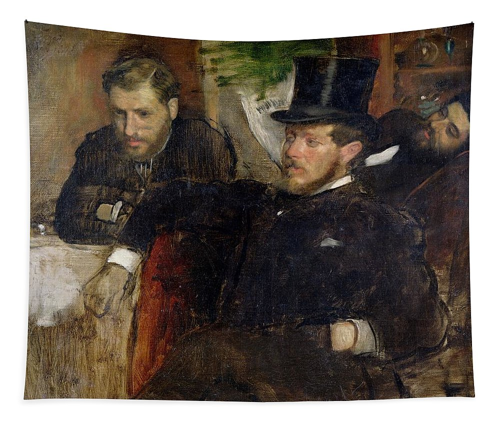 Edgar Degas Tapestry featuring the painting Jeantaud Linet And Laine by Edgar Degas