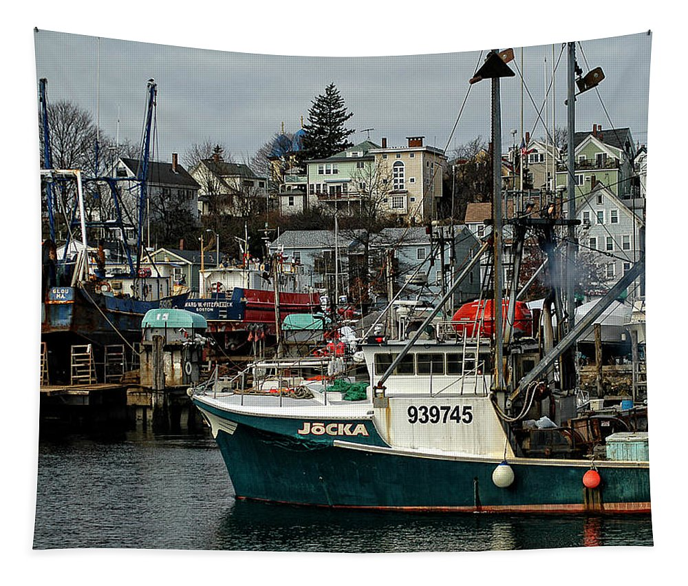 Seascape Tapestry featuring the photograph Jocka 939745 by Mike Martin