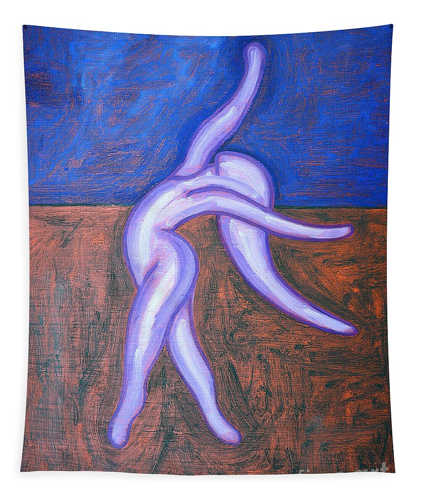 Dance With Joy Tapestry featuring the painting JOY by Patrick J Murphy