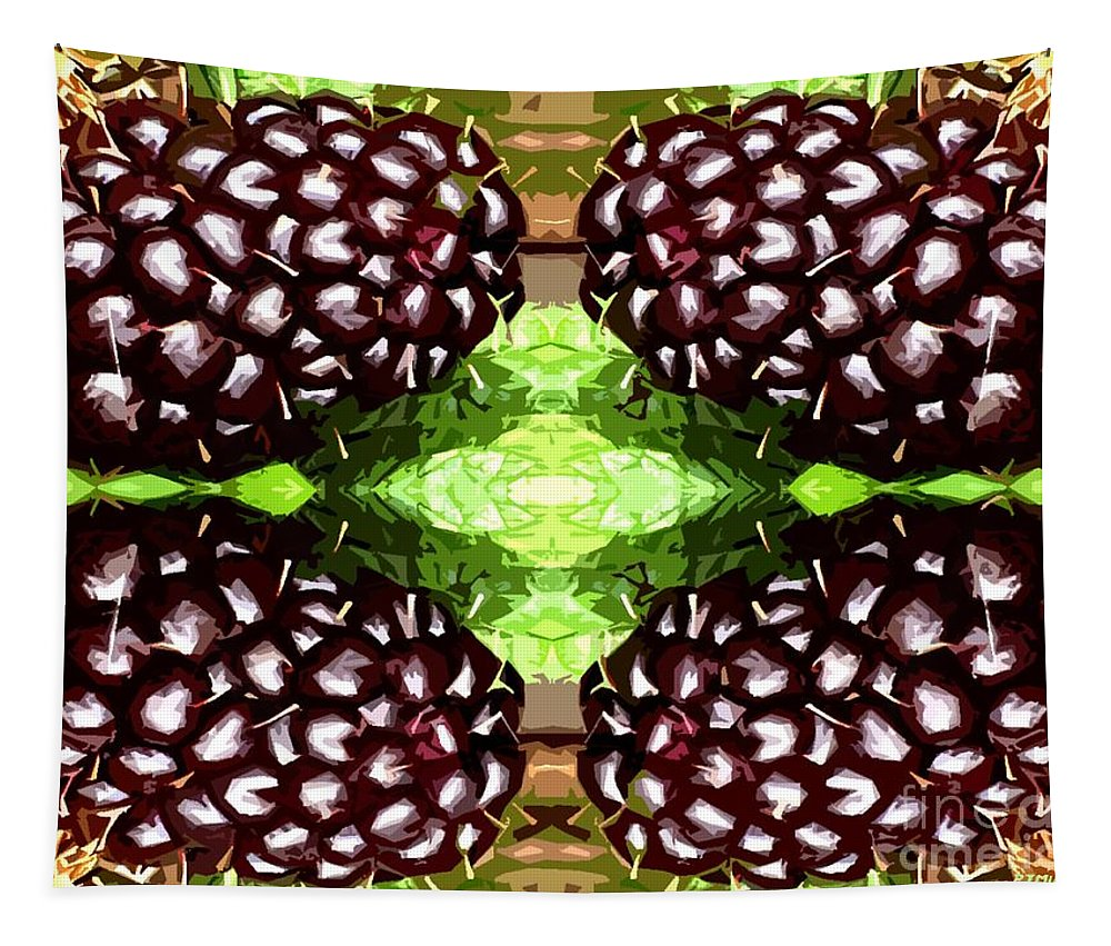 Food Tapestry featuring the photograph Juicy Fruity by Patrick J Murphy