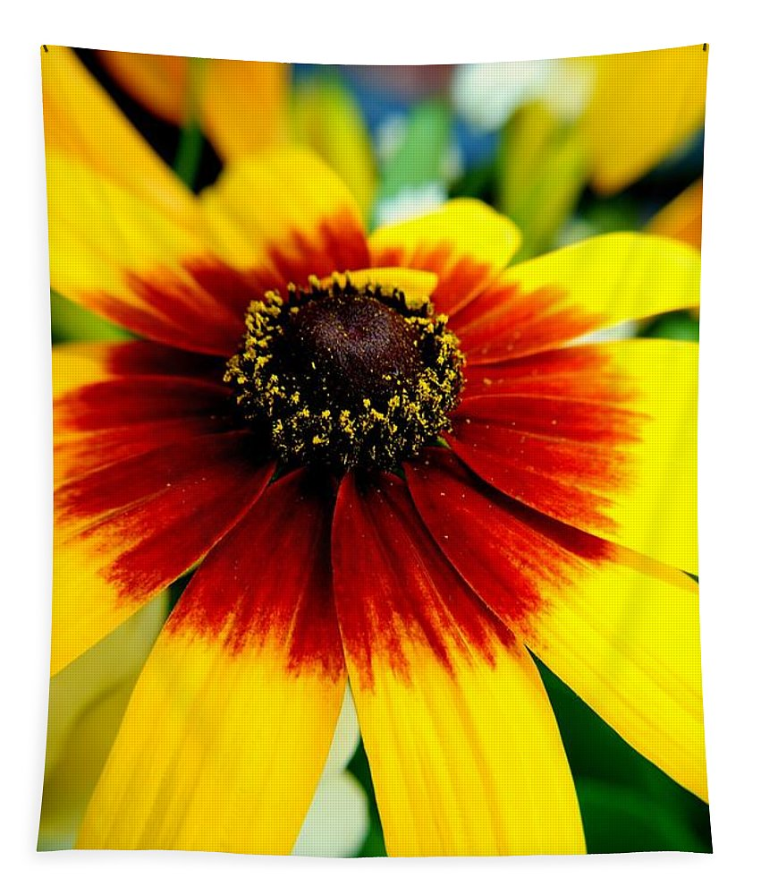 Flowers Tapestry featuring the photograph Kaleidoscope Bouquet by Frozen in Time Fine Art Photography