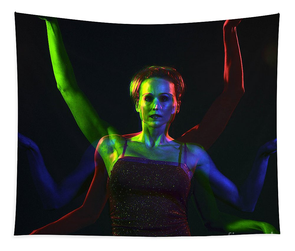 Model Tapestry featuring the photograph Kelliergb-10 by Gary Gingrich Galleries