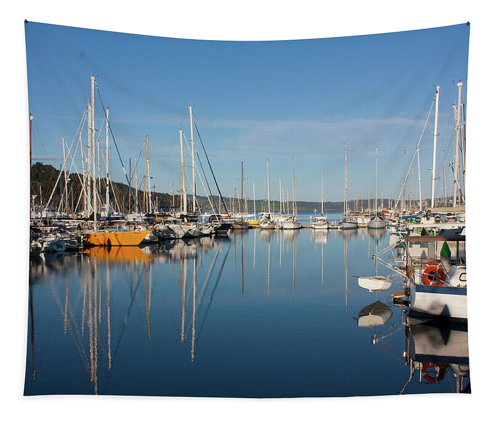 Kettering Tapestry featuring the photograph Kettering Harbour by Bruce