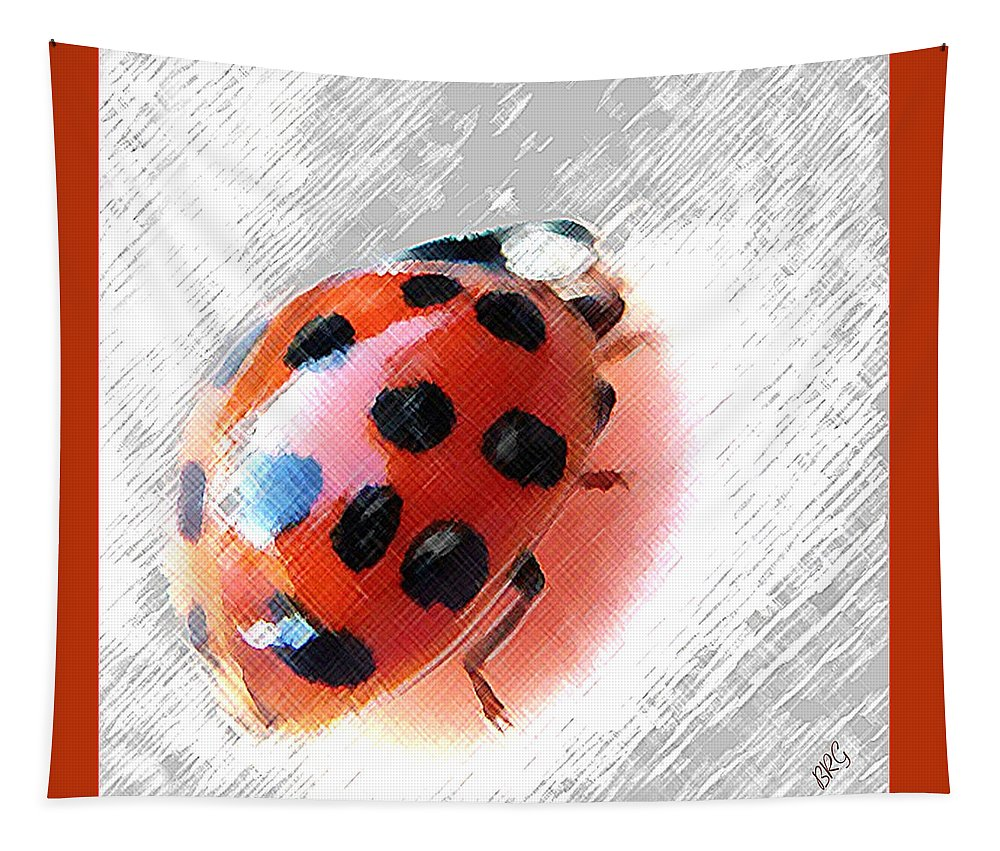 Ladybug Tapestry featuring the photograph Ladybug Spectacular by Ben and Raisa Gertsberg