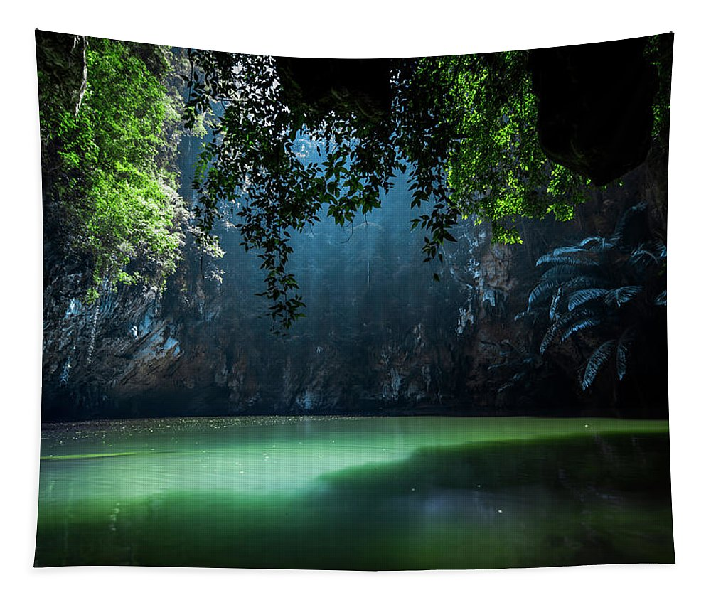 Lagoon Tapestry featuring the photograph Lagoon by Nicklas Gustafsson