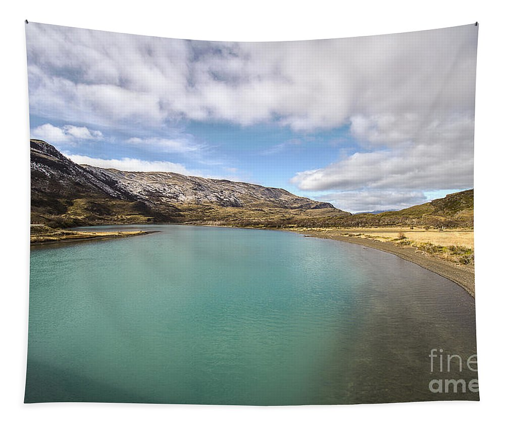 Nature Tapestry featuring the photograph Lake Del Toro by Mirko Chianucci