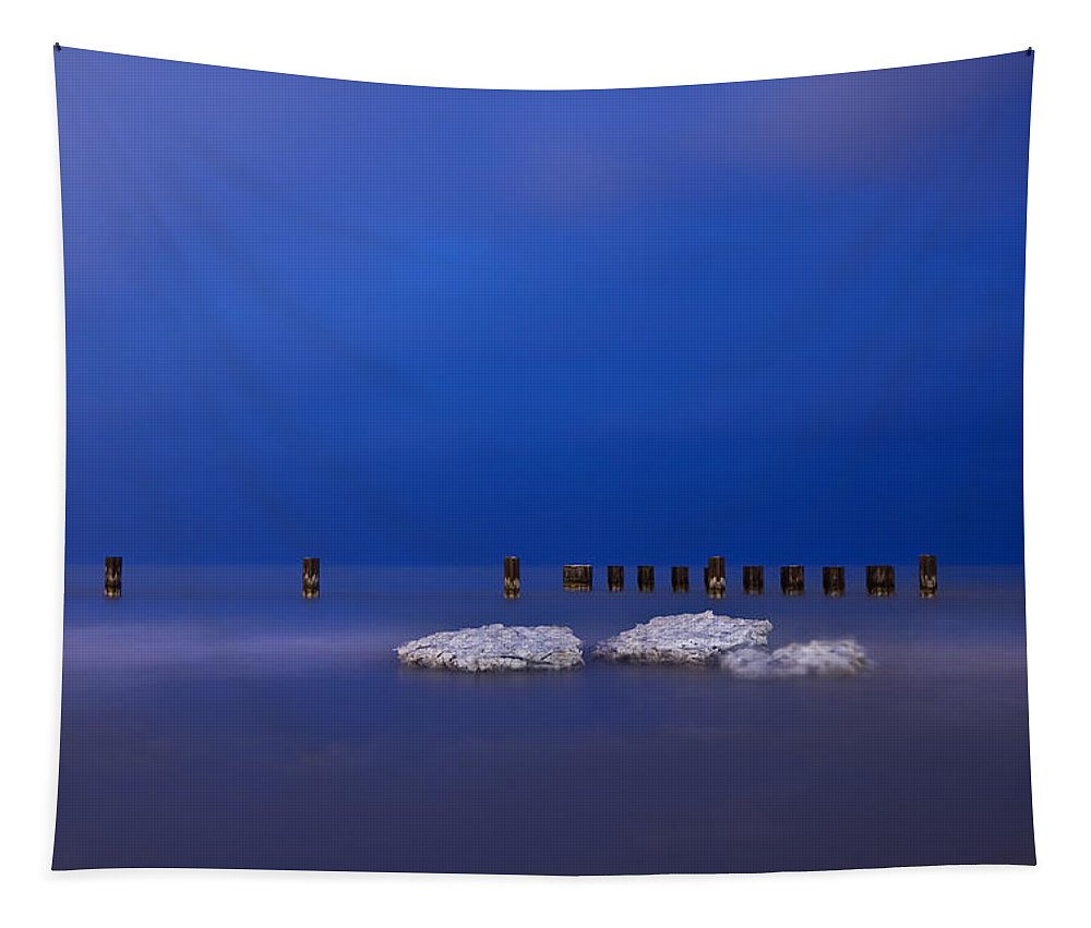 Winter Tapestry featuring the photograph Lake Ice Chicago by Steve Gadomski