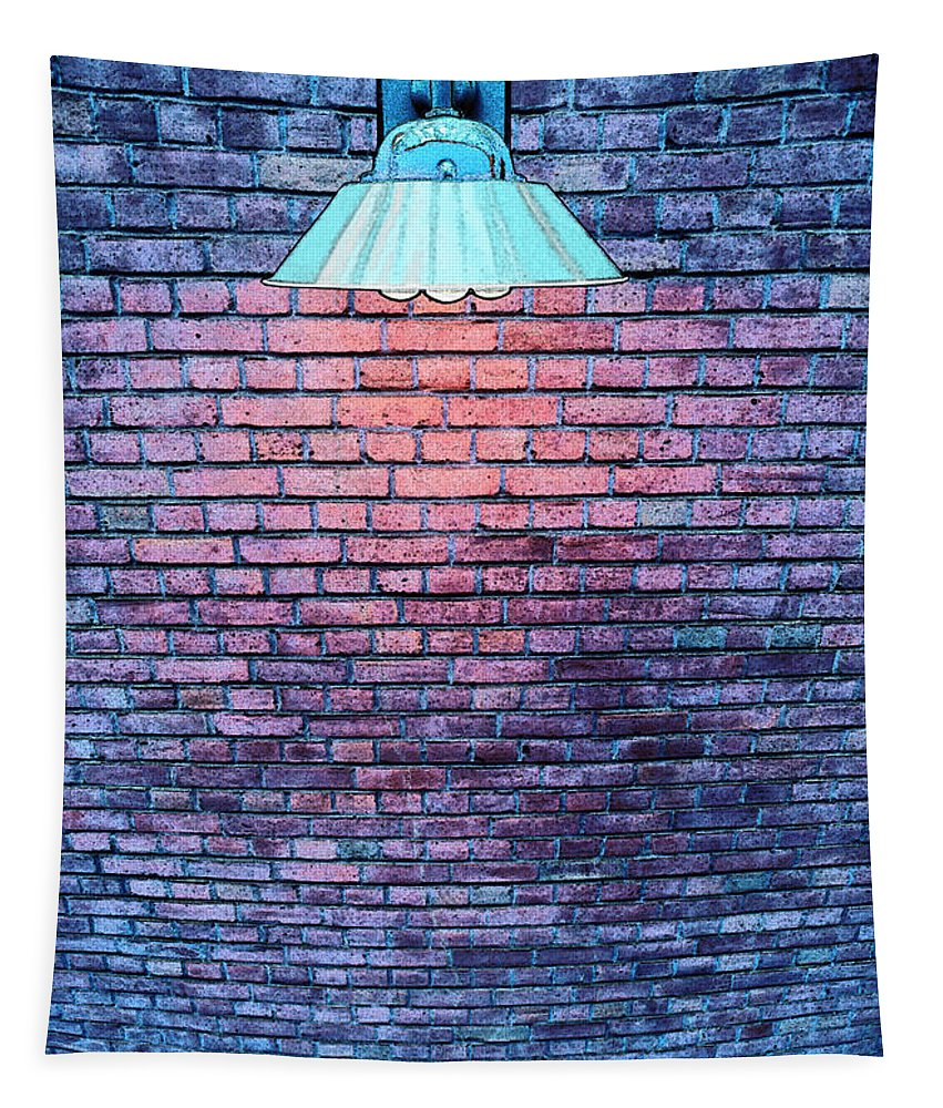 Photography Tapestry featuring the photograph Lamp Light by Paul Wear