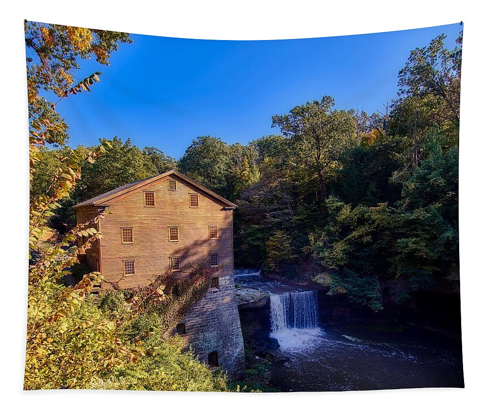 Lanterman's Mill Tapestry featuring the photograph Lanterman's Mill by Mountain Dreams