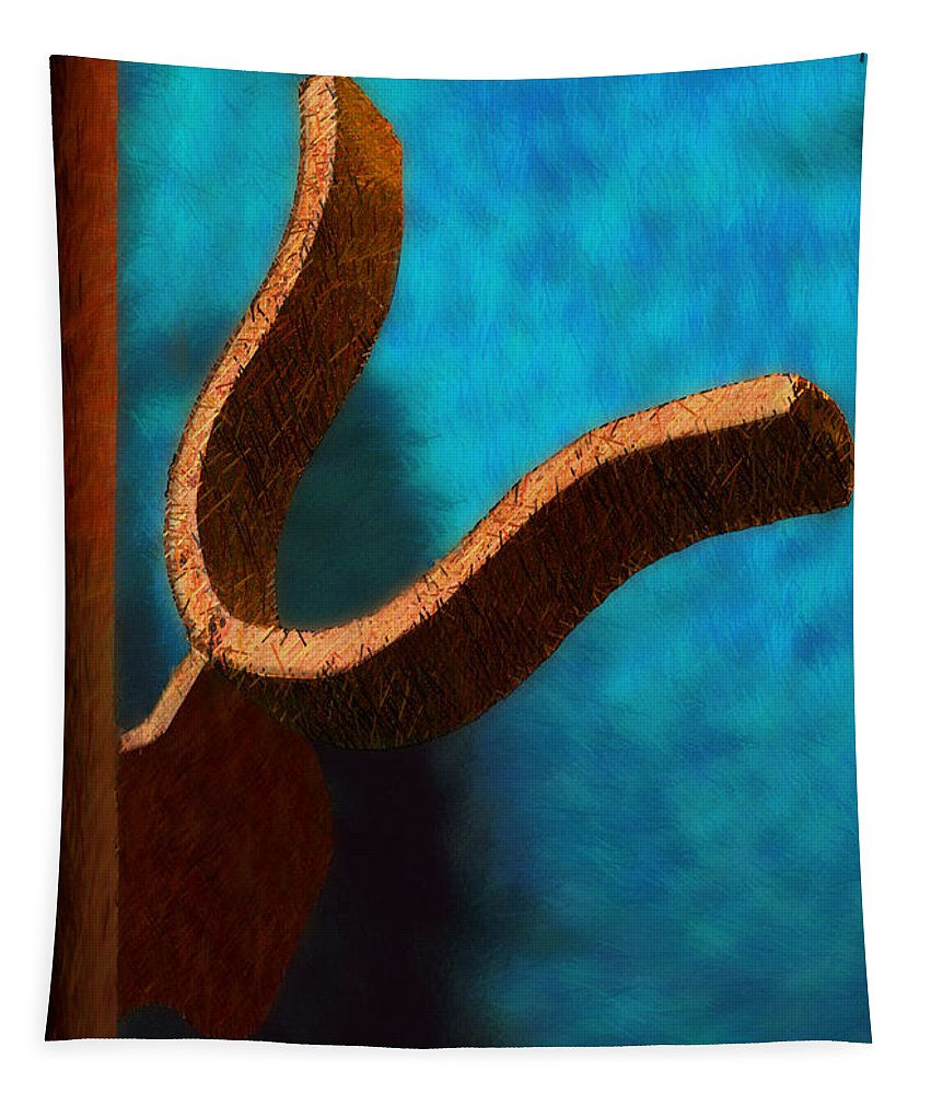 Photography Tapestry featuring the photograph Latch by Paul Wear