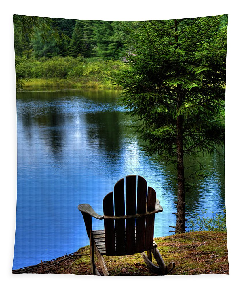 Late Summer Shadows Tapestry featuring the photograph Late Summer Shadows by David Patterson