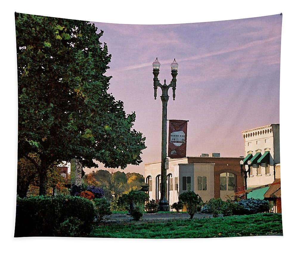 Landscape Tapestry featuring the photograph Late Sunday Afternoon by Steve Karol