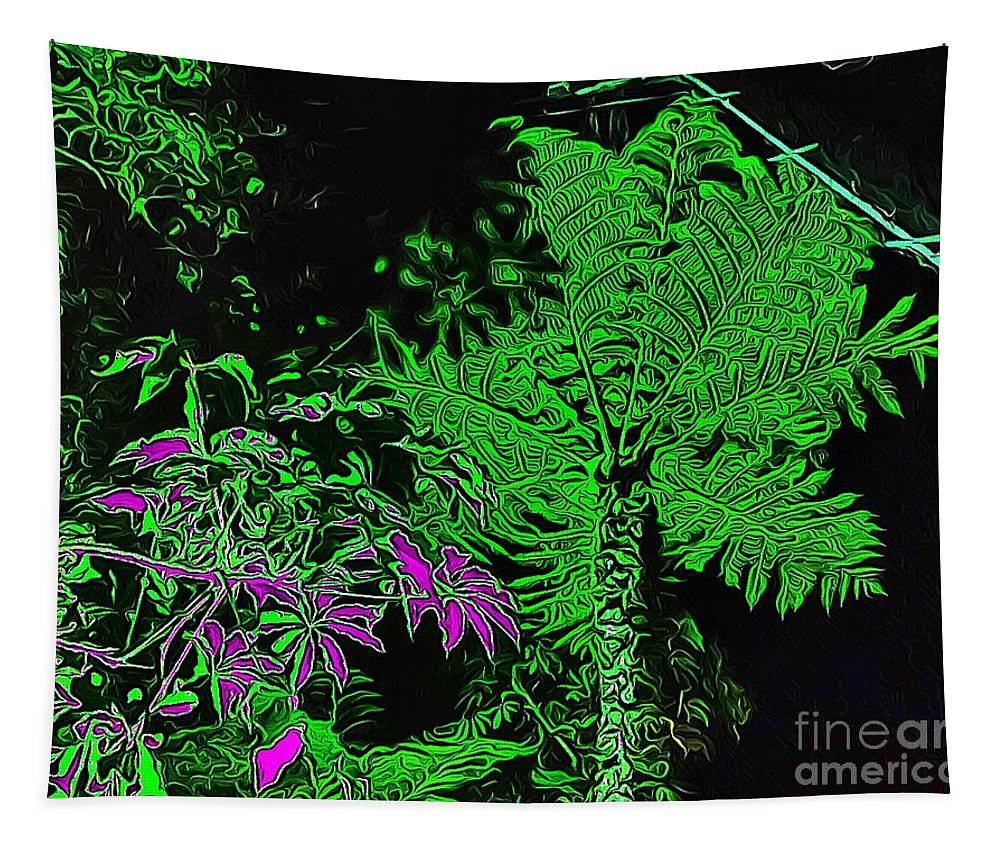 Abstract Tapestry featuring the photograph Latimer Street by Jenny Revitz Soper