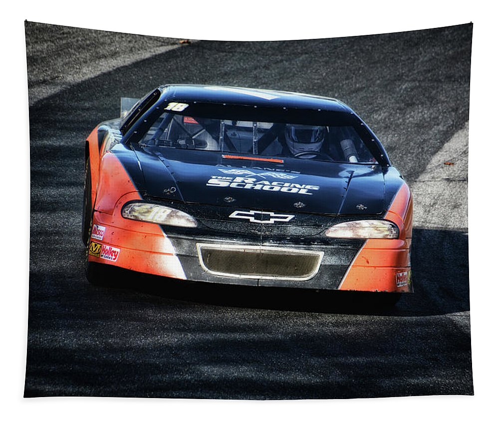 Pro Tapestry featuring the photograph Learning To Speed by Mike Martin
