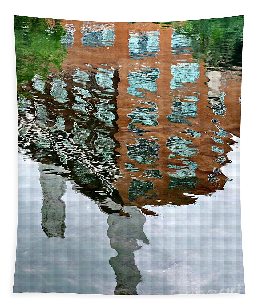 Reflection Tapestry featuring the photograph Life's Reflections by Gary Richards