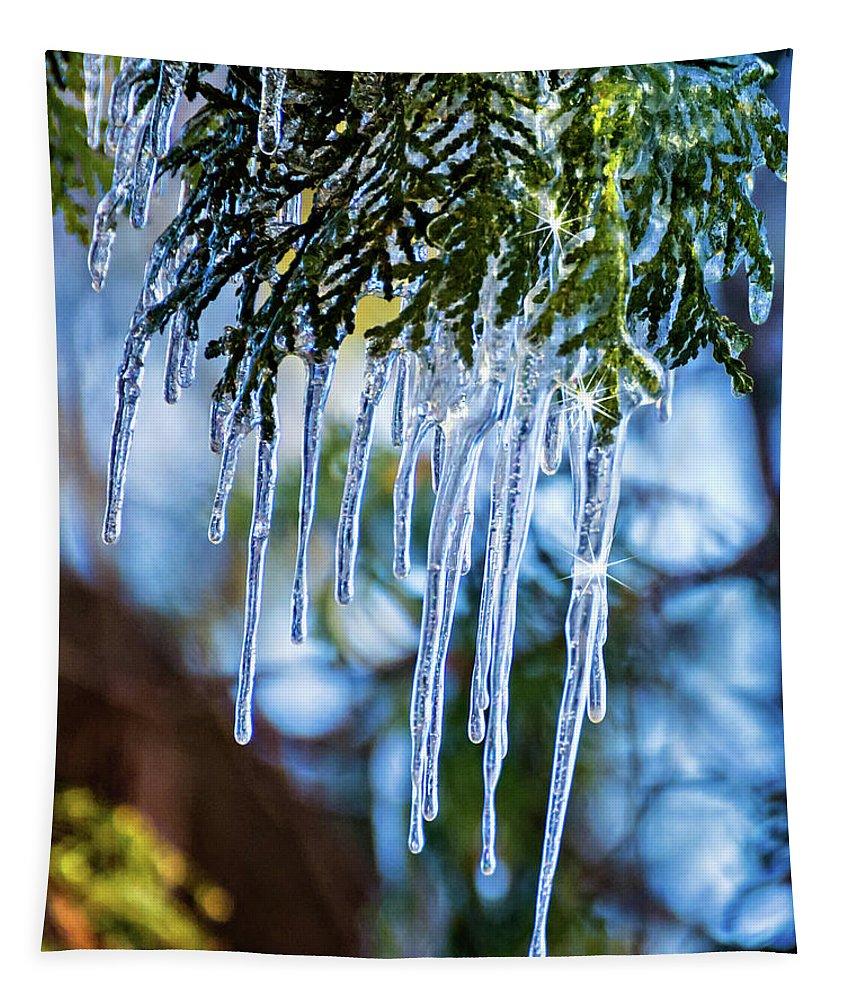 Steve Harrington Tapestry featuring the photograph Light Chimes 4 by Steve Harrington