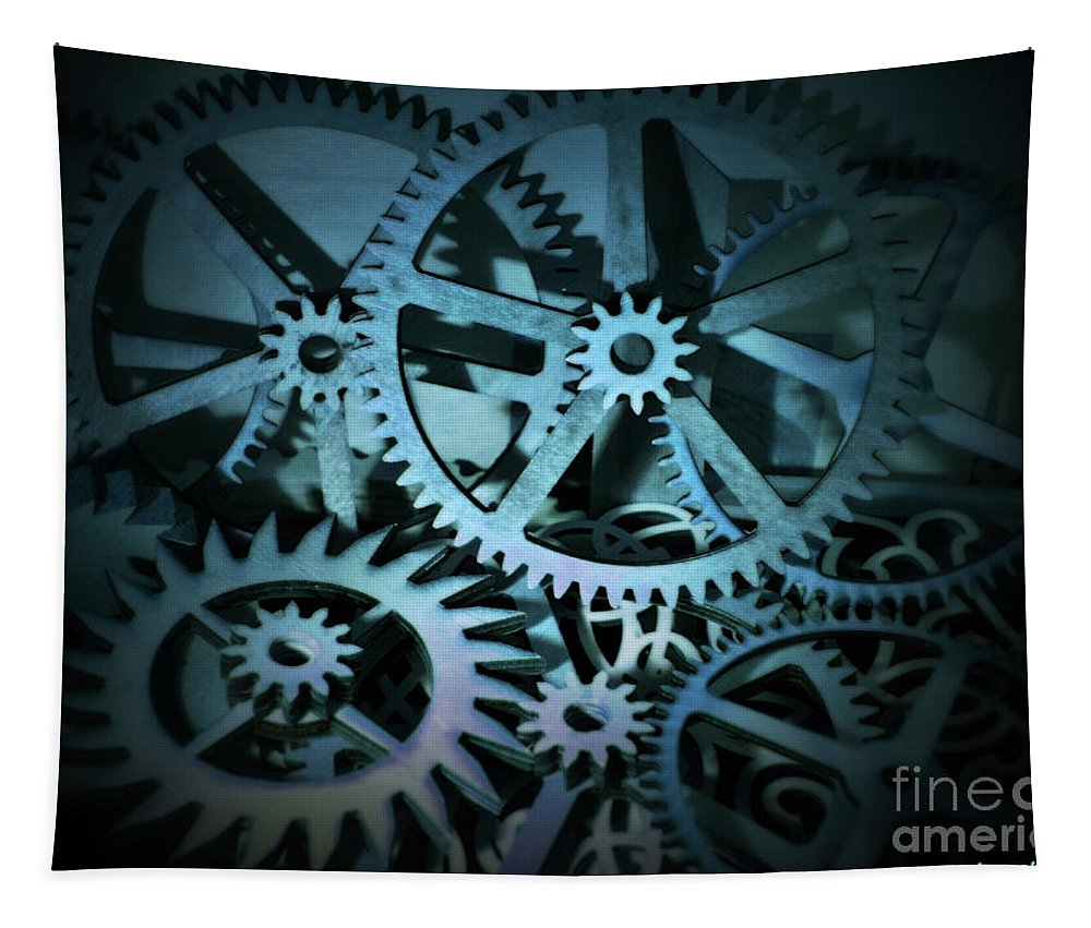 Beautiful Tapestry featuring the photograph Like Clockwork by Sandra Gallegos