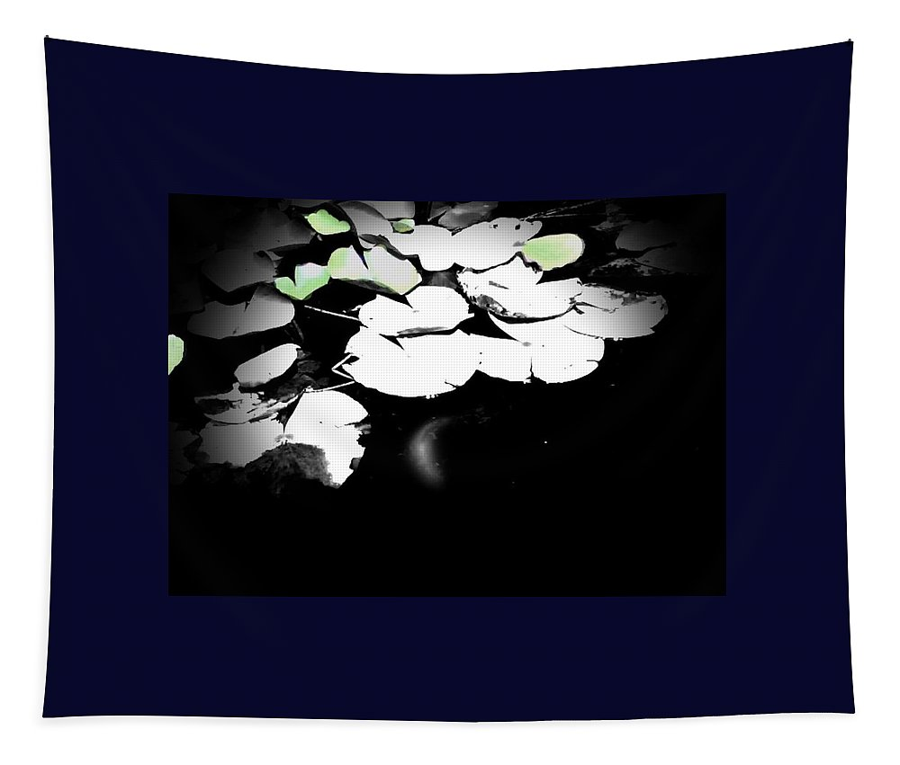 Water Tapestry featuring the photograph Lily Pad by Charleen Treasures