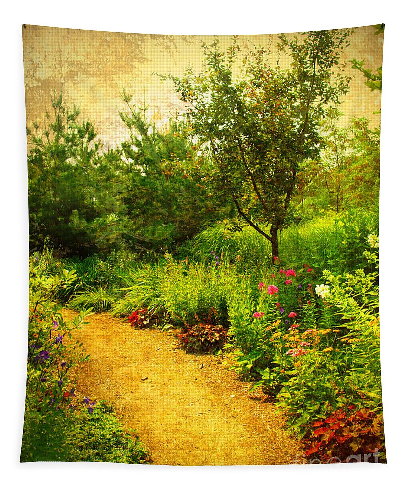 Gardens Tapestry featuring the photograph Linden Gardens 2 by Tara Turner