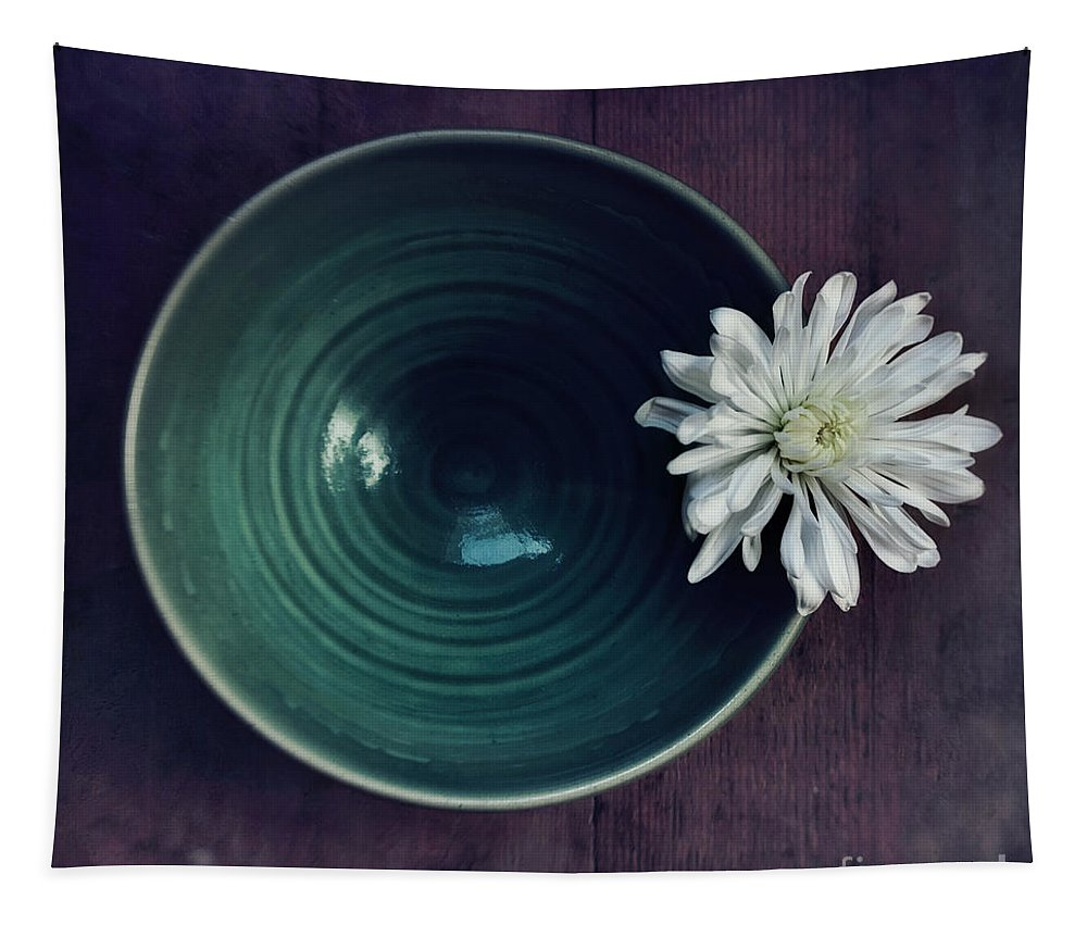 Simplicity Tapestry featuring the photograph Live Simply by Priska Wettstein