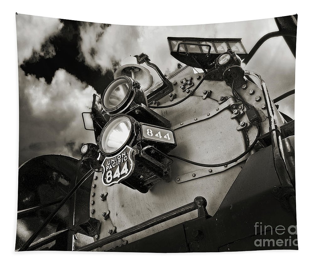 Trains Tapestry featuring the photograph Living Legend 844 by John Anderson