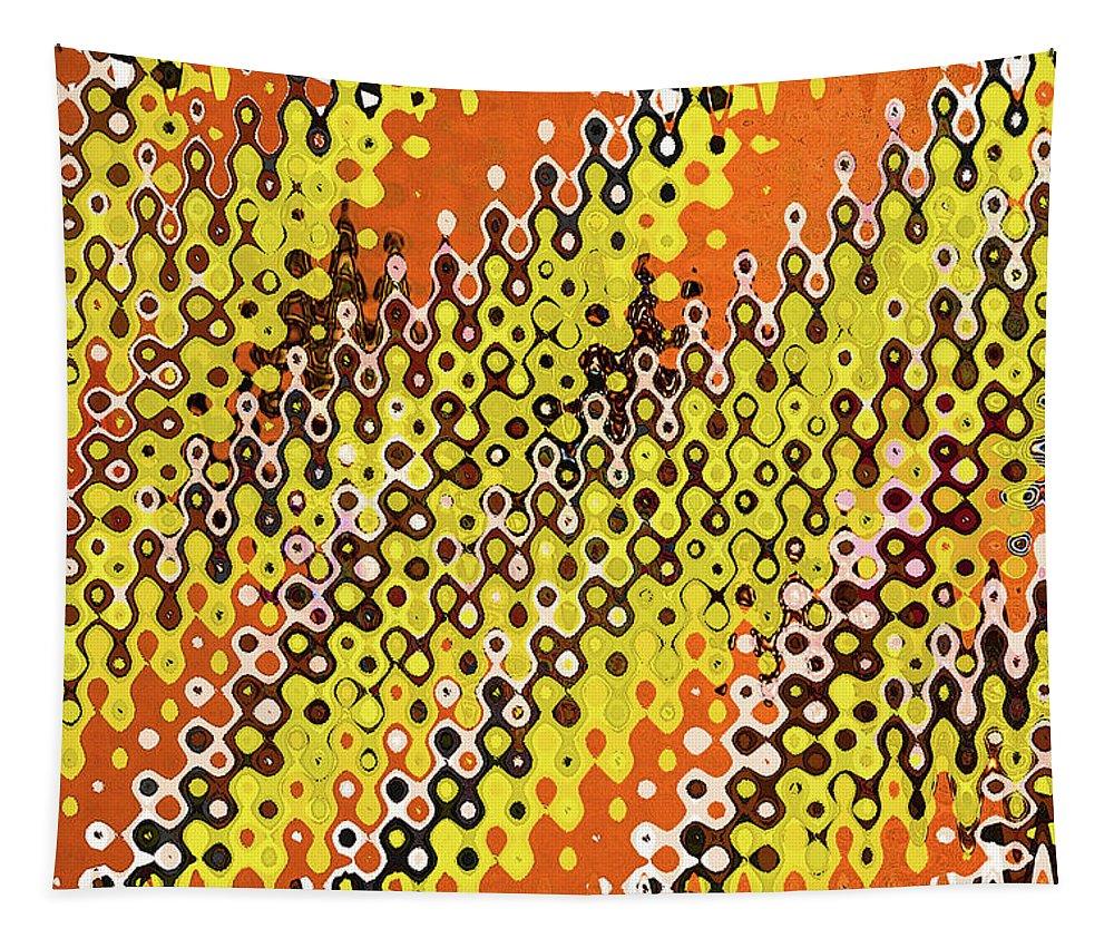 Loop De Loop Tapestry featuring the digital art Loop De Loop by Tom Janca