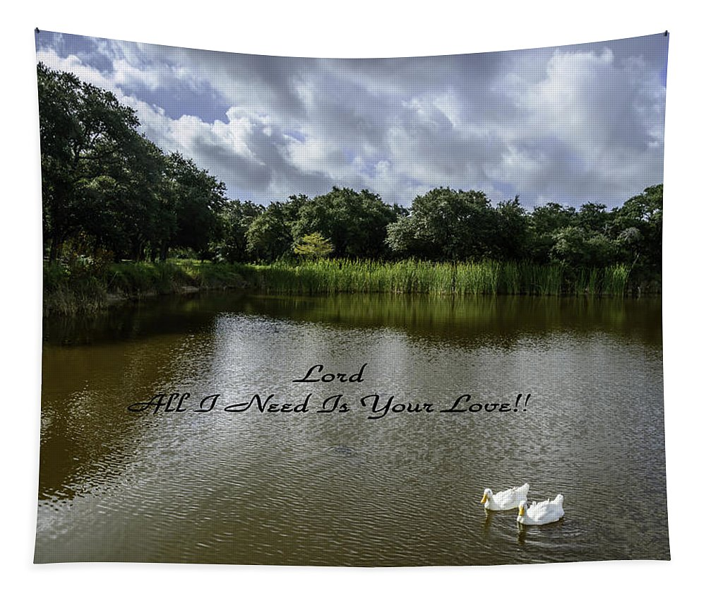 Park Tapestry featuring the photograph Lord Al I Need Is Your Love by Leticia Latocki